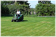 Sit on Mower for Turfing page