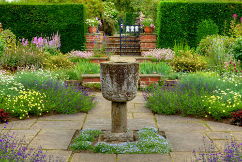 Photo of a formal garden